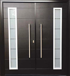 Composite aluminium door