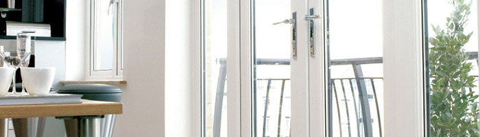 French doors triple glazing