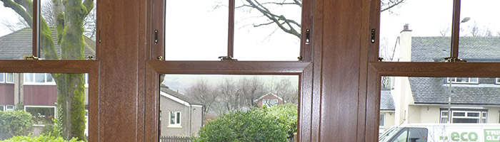 Sliding sash window in Glasgow